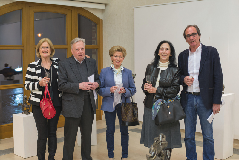Vernissage – Metallkünstler