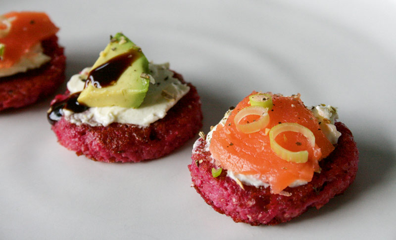 Rote Bete Blinis